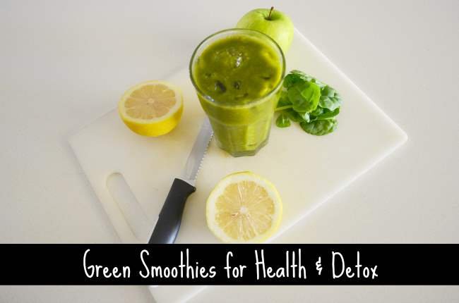 green smoothie recipes for detox and wellness