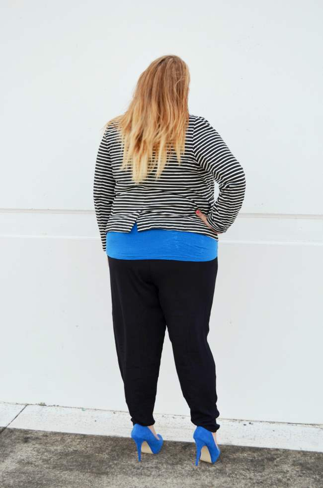 plus size harem pants by Christine Kardashian 006