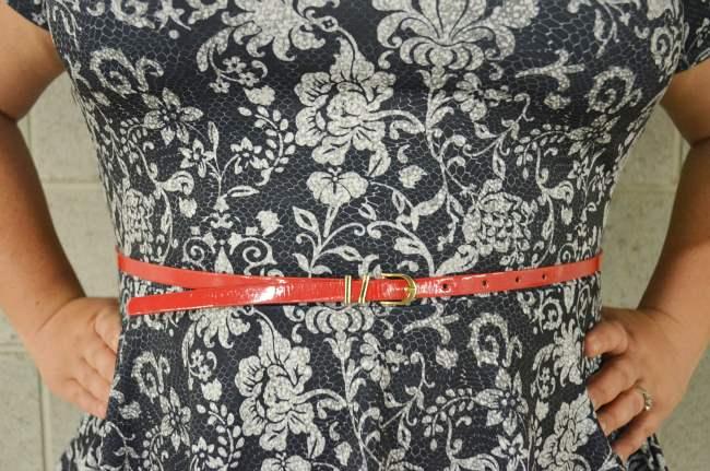 plus size asos curve peplum outfit 006