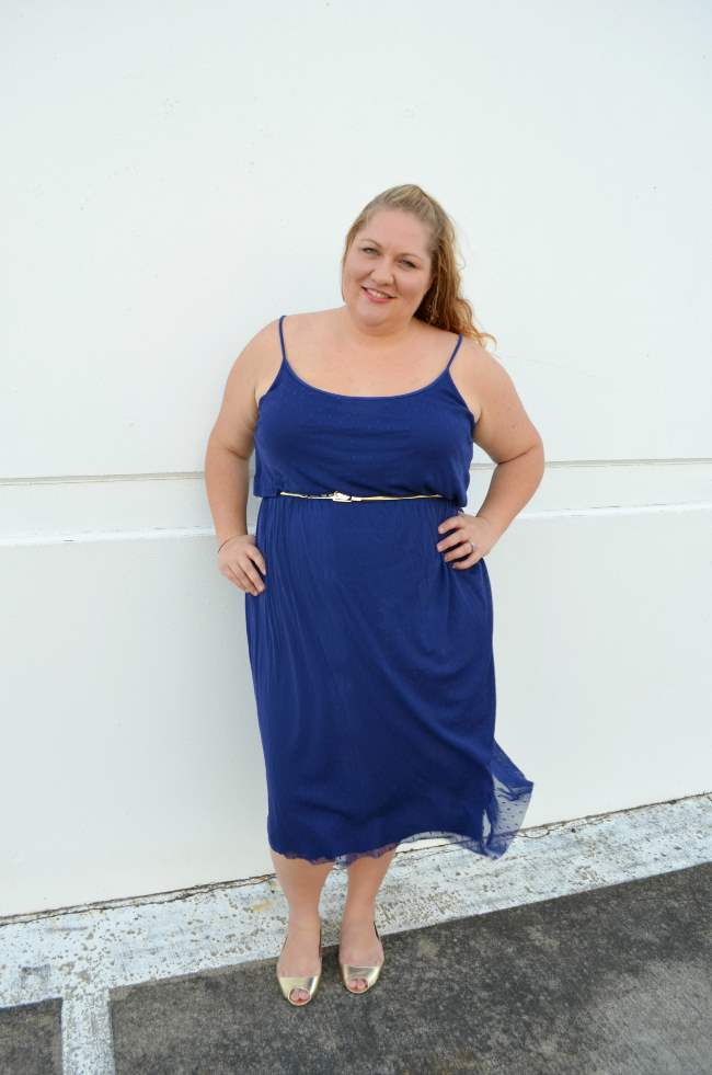 plus size asos midi dress with belt 006