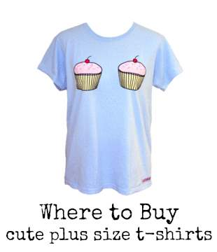 Post image for Where to Buy Cute Plus Size T-Shirts.