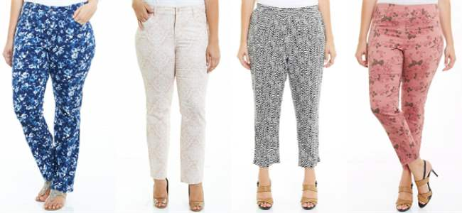 Autograph patterned pants 2013