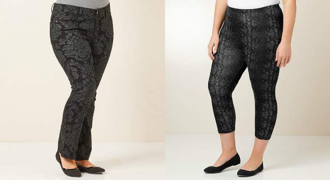 MODA for Target patterned pants 2013
