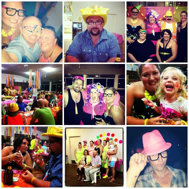 neon party Collage 001