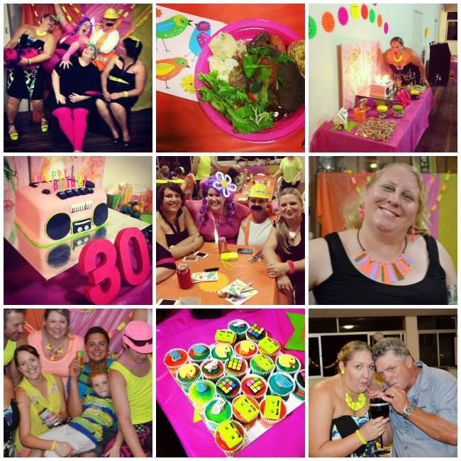 neon party Collage 002