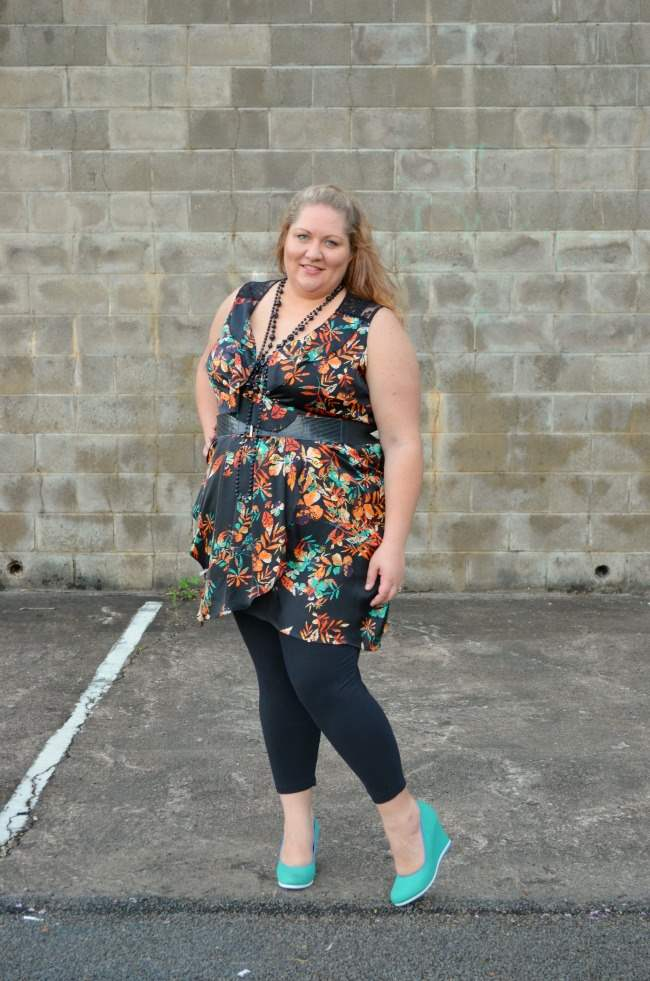 plus size city chic tunic and leggings 007