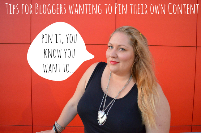 Pinterest: How to pin your own blog posts