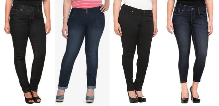 Torrid plus size jeans