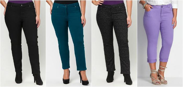 Virtu plus size jeans