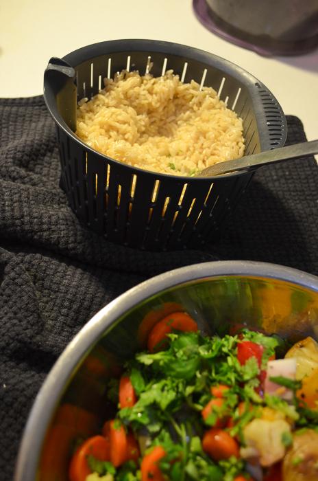 chunky roast vegetable rice salad-5