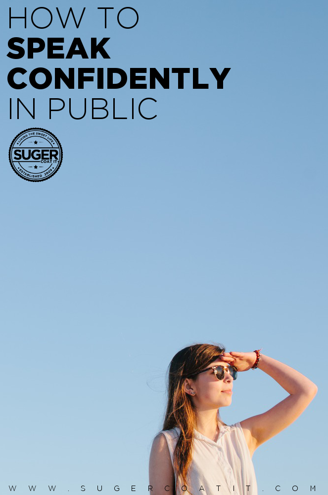 how to speak confidently in public speaking