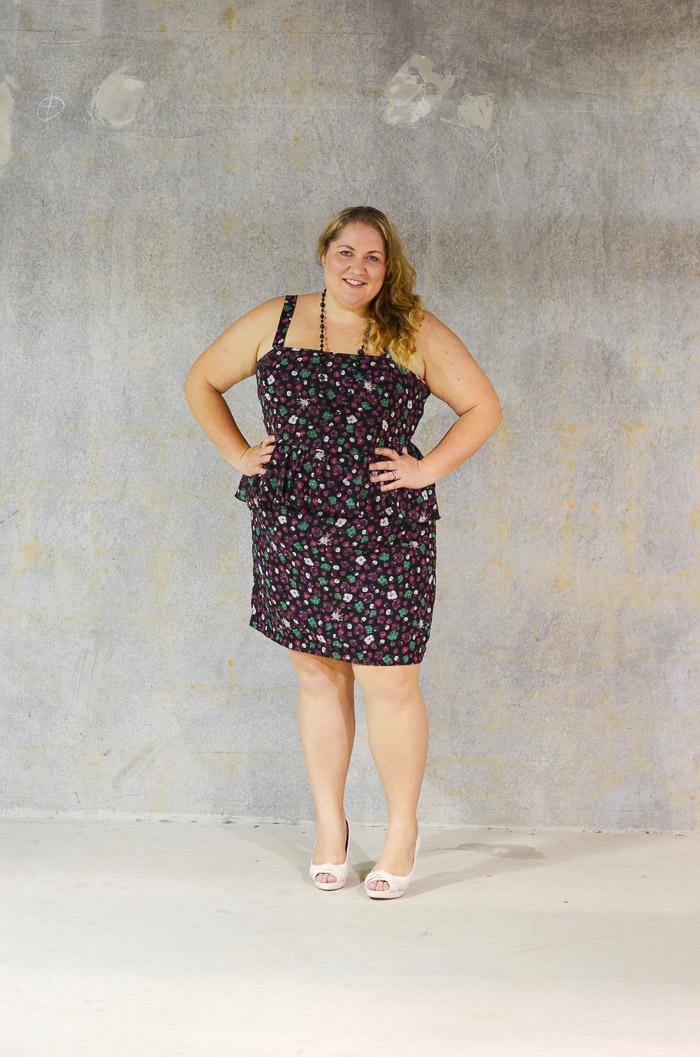 plus size eshakti dress with heels-2
