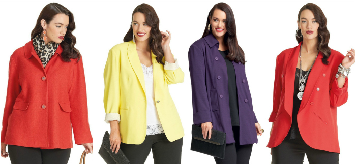 plus size jackets by my size