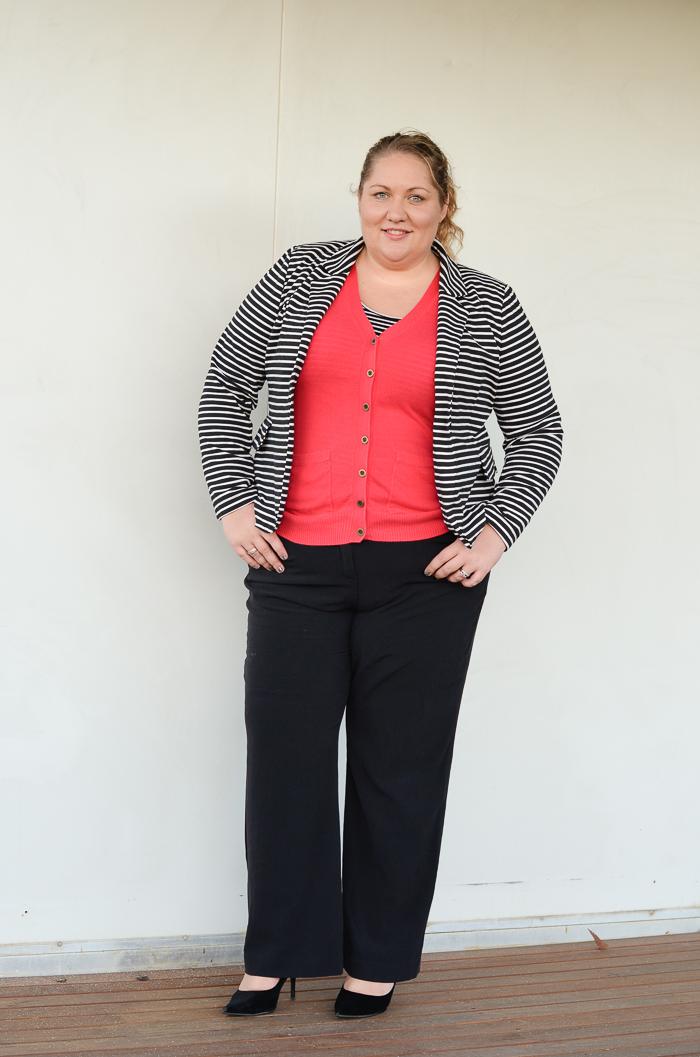 work wear for office plus size