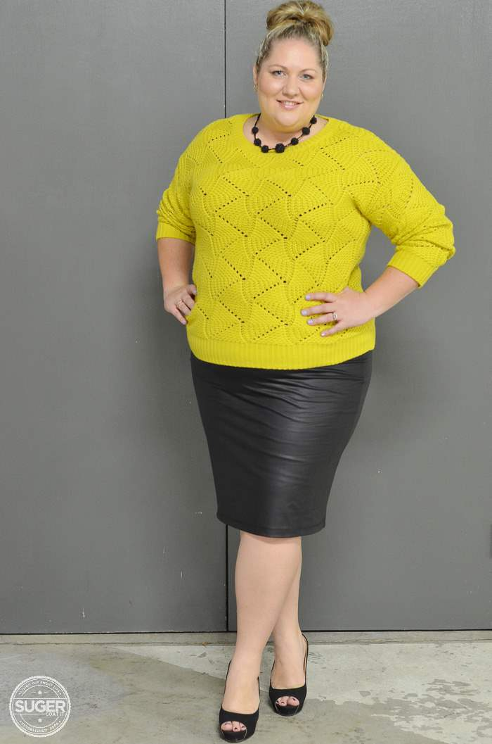 plus size fashion winter outfit-6