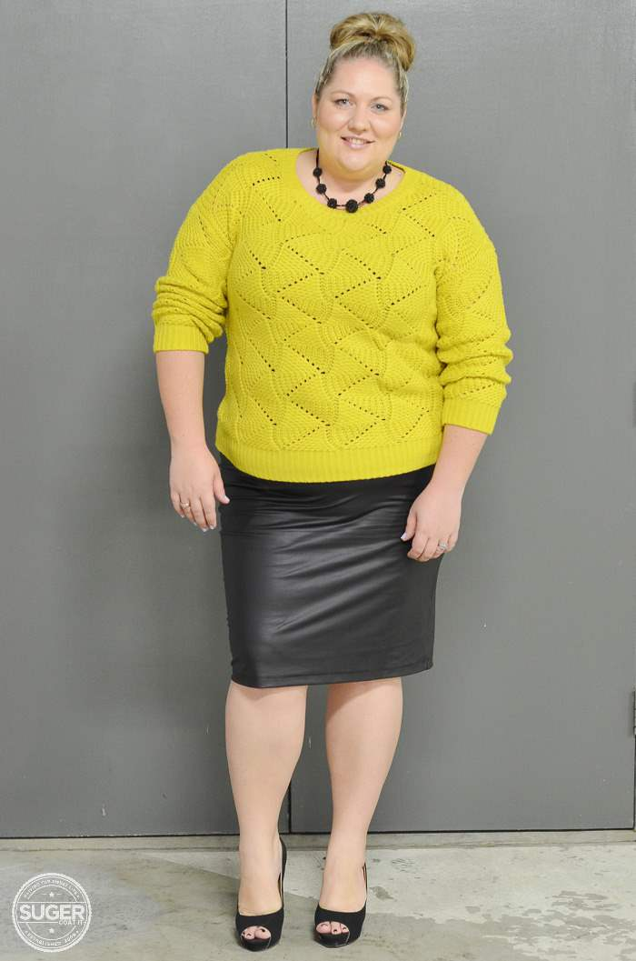 plus size fashion winter outfit-7