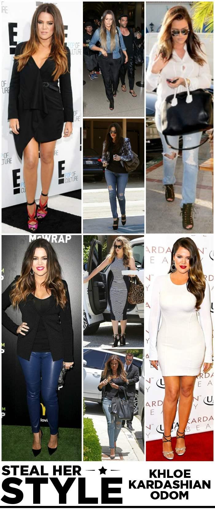 Khloe Kardashian Style Her Style