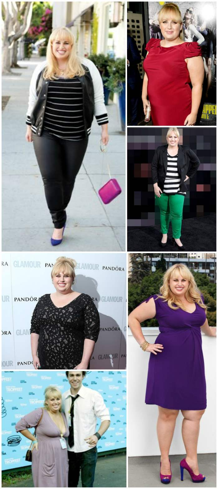 Rebel Wilson Steal Her Style Collage