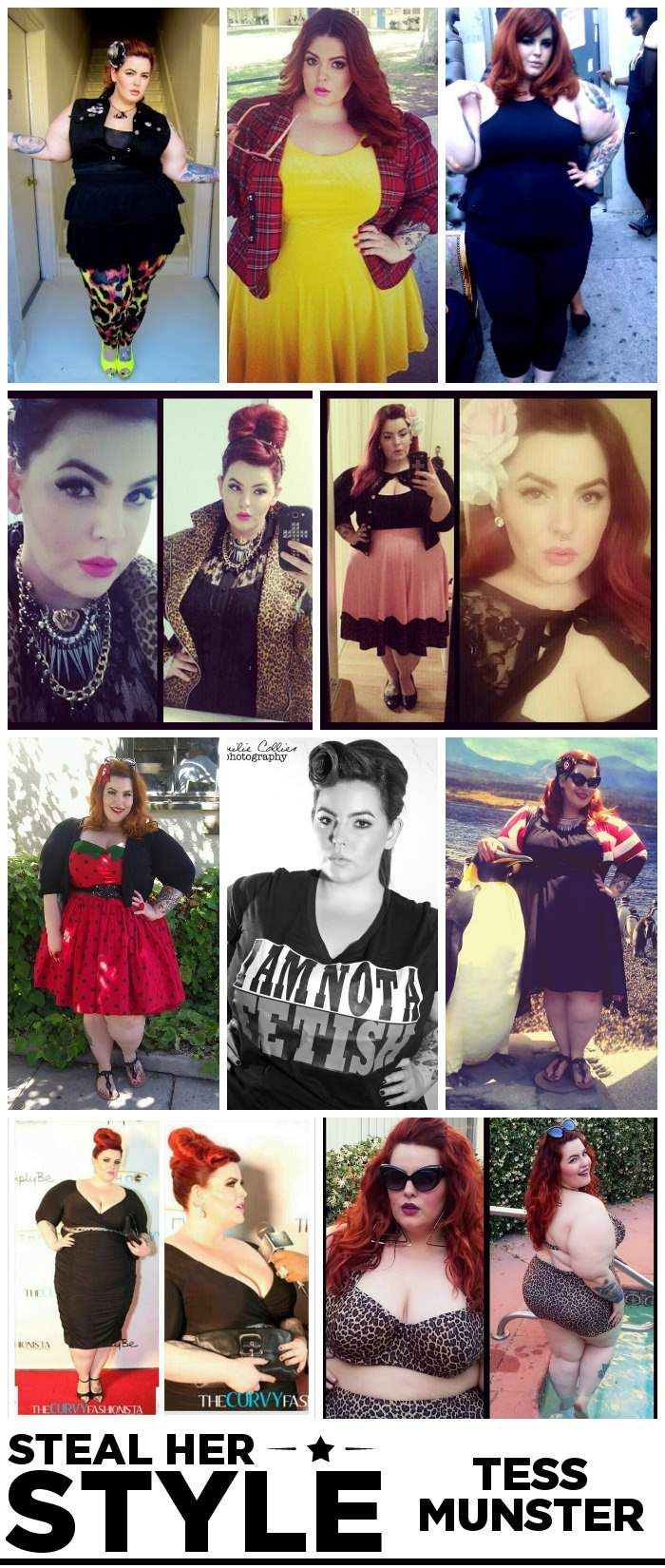 Tess Munster Steal Her Style Collage