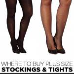 Where to Buy Plus Size Stockings and Tights