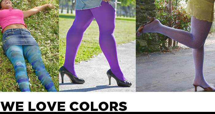 Where to Buy plus size stockings and tights WE LOVE COLORS
