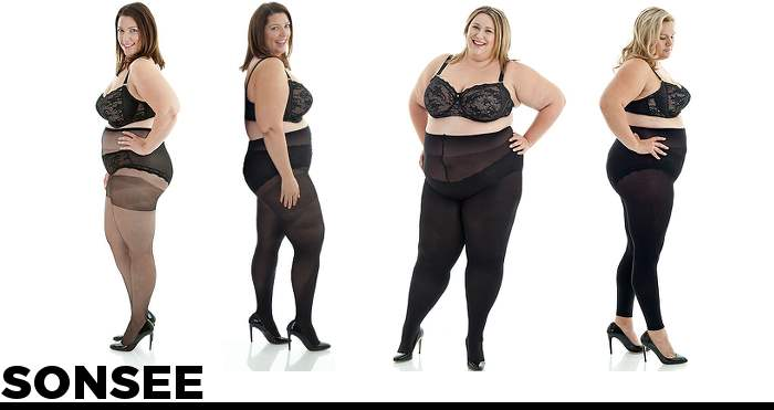 Where to Buy plus size stockings and tights sonsee