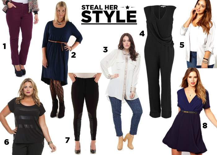 melissa mccarthy - steal her style - shopping guide