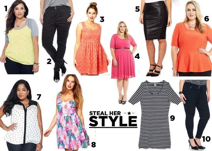 Amber Riley: Steal Her Style - Shopping Board