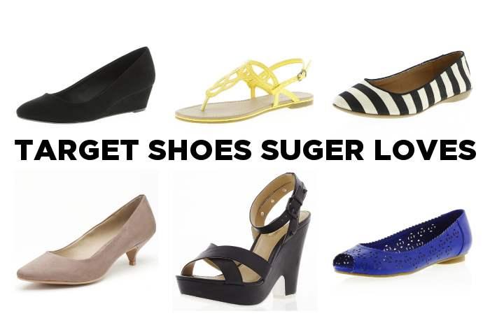 Target Women's Shoe Collage