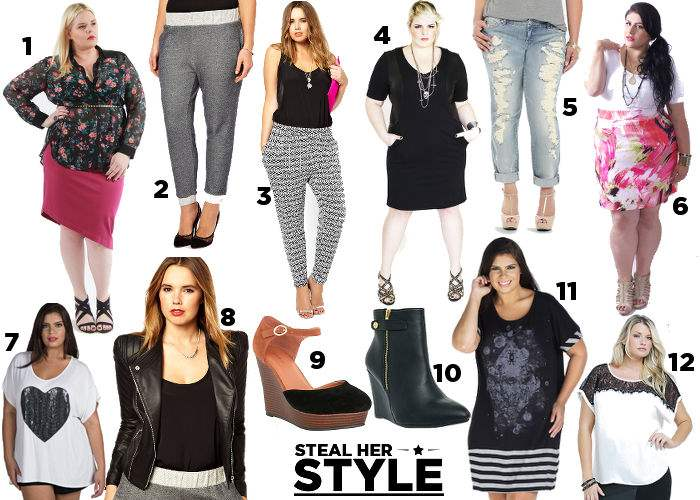 Steal Her Style Curvy Girl Chic Shopping