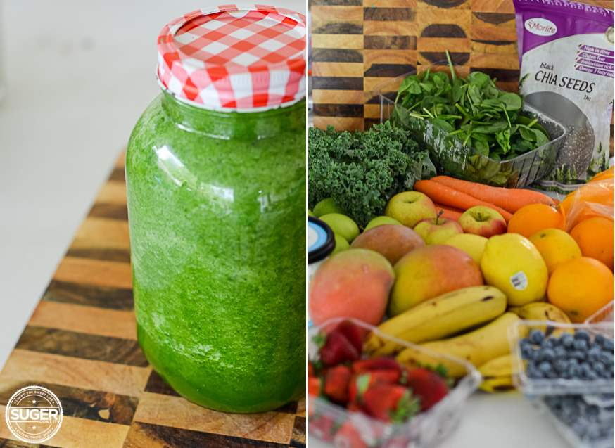 Green Juice Healthy Living Smoothie