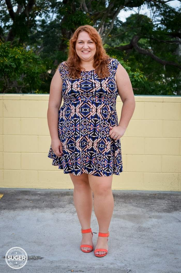plus size forever 21 dress casual outfit-5