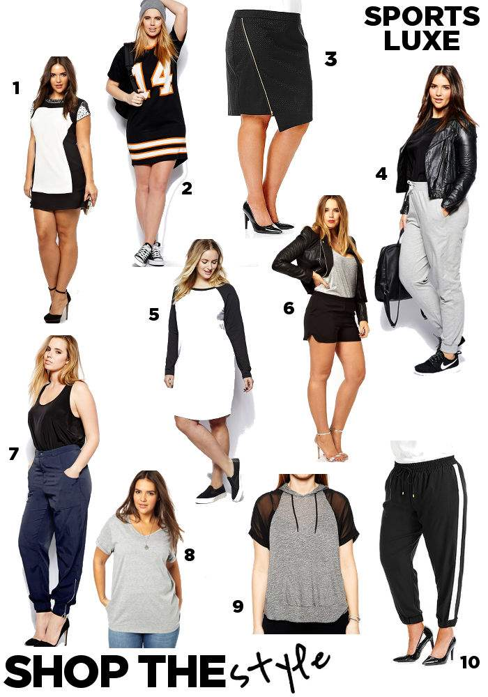 steal her style sportsluxe sporty spice where to buy shopping board