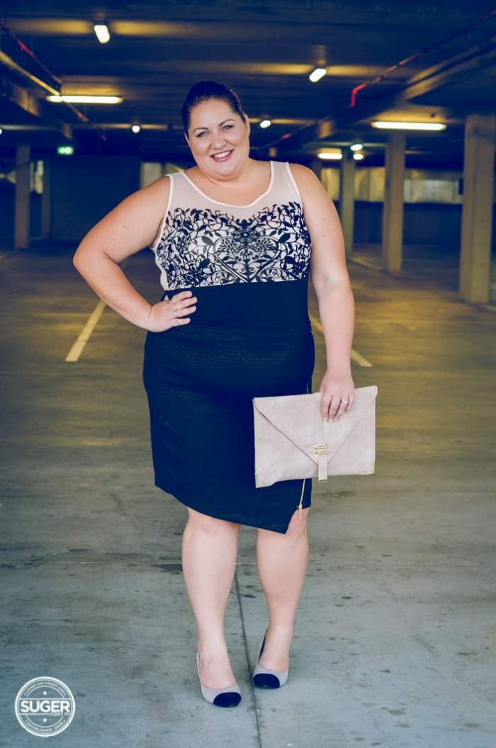 aussie curves runway sheer plus-size outfit-8