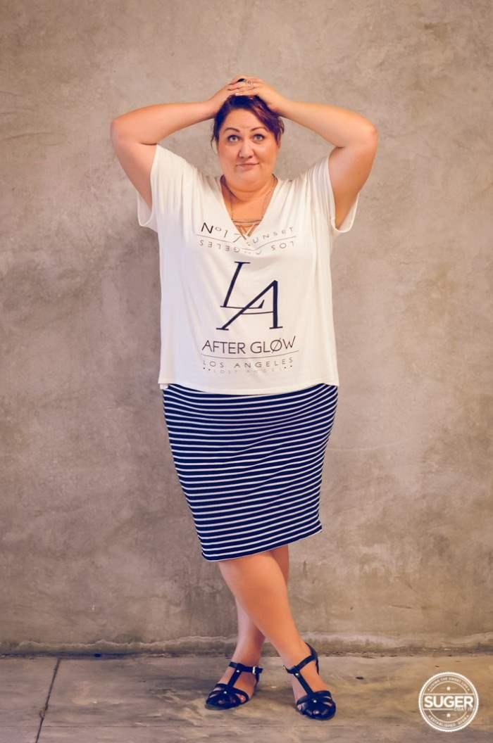 plus-size 17 sundays afterglow t-shrit outfit-6