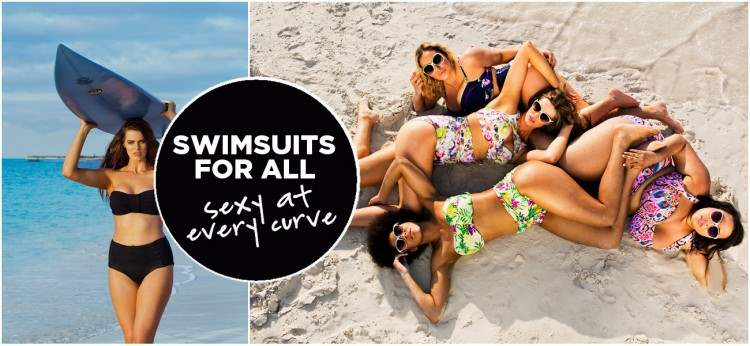 Swimsuits for All - plus size swimwear - curves at every size
