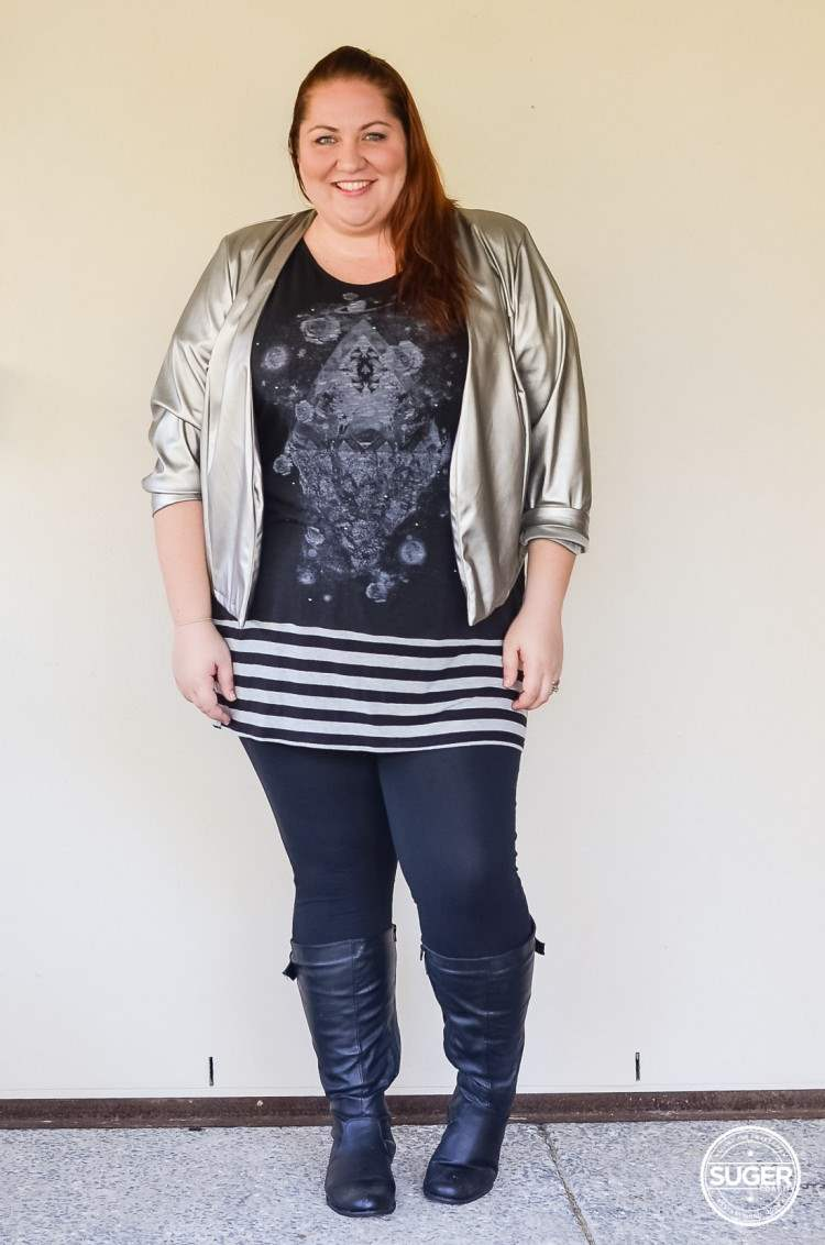 plus size tunic + leggings + boots outfit-3