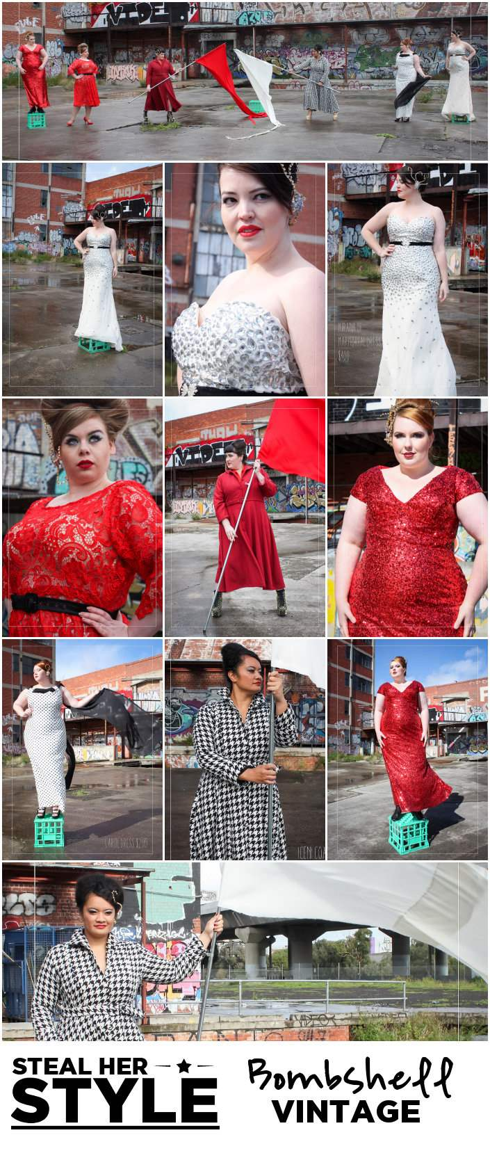 Where to Buy Plus-Size Fashion Bombshell Vintage