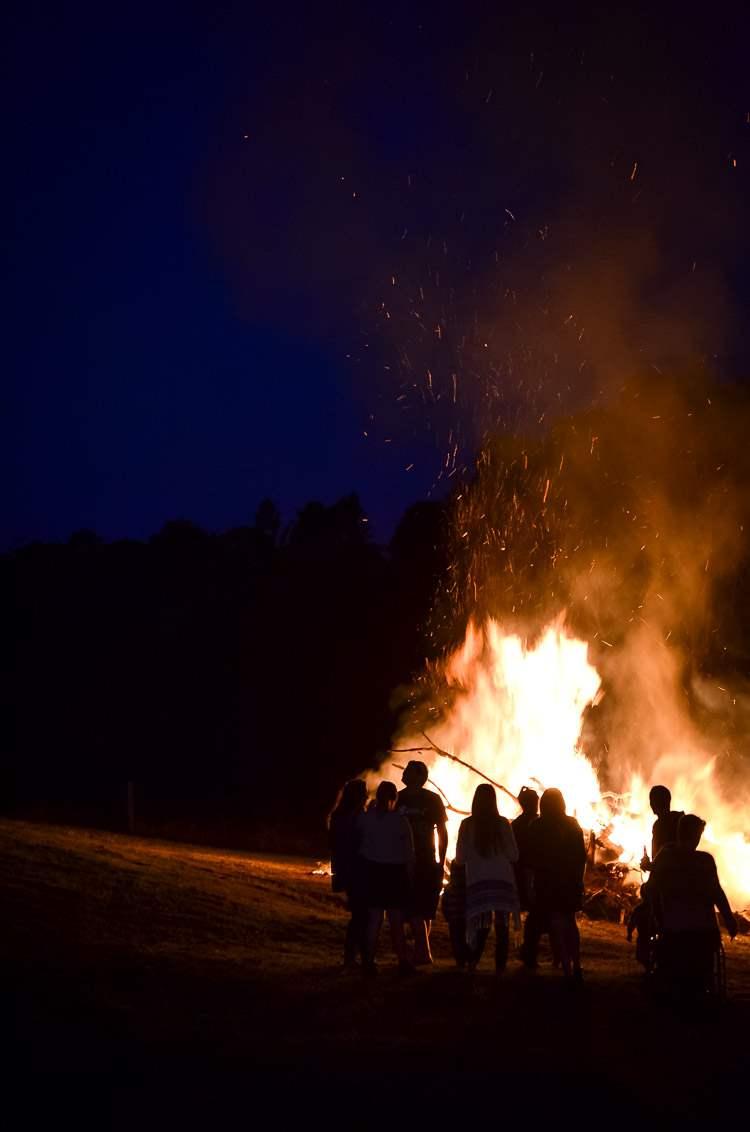 bonfire friday night, family fun