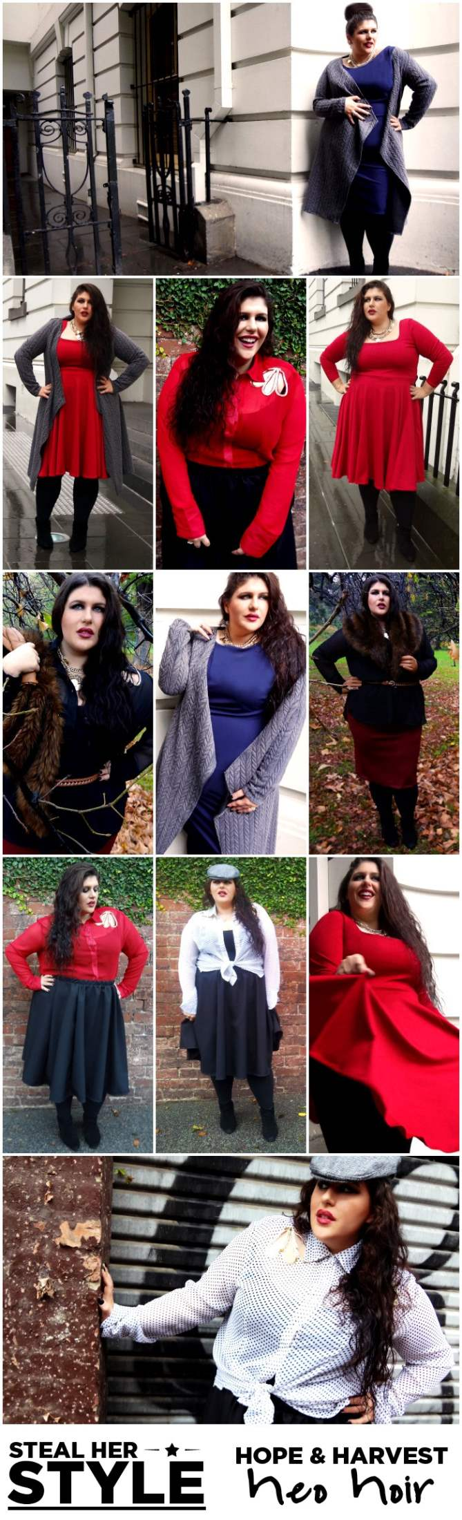 Hope + Harvest Neo Noir AW 14 Plus-Size Collection.jpg