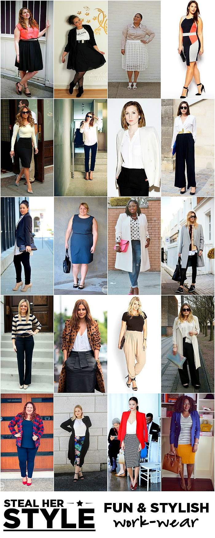 steal her style work outfit inspiration work wear ideas