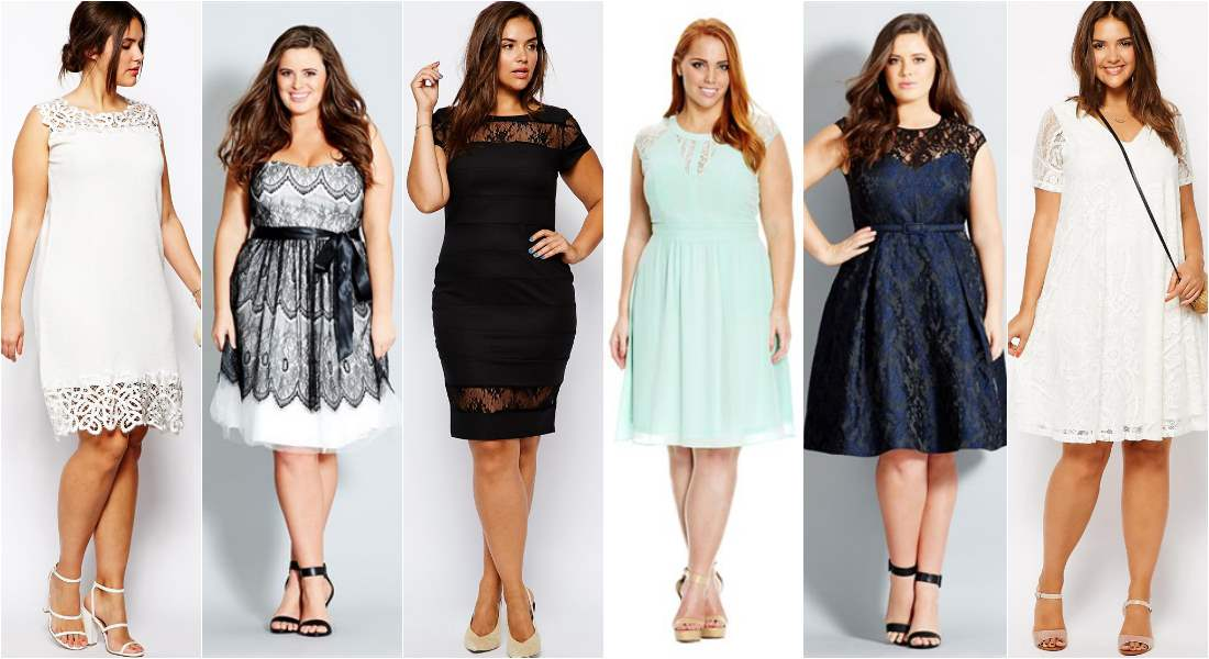 plus size spring racing fashion - lace