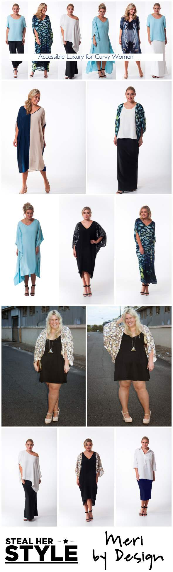 Meri by Design: stylish plus size fashion for curvy and elegant women