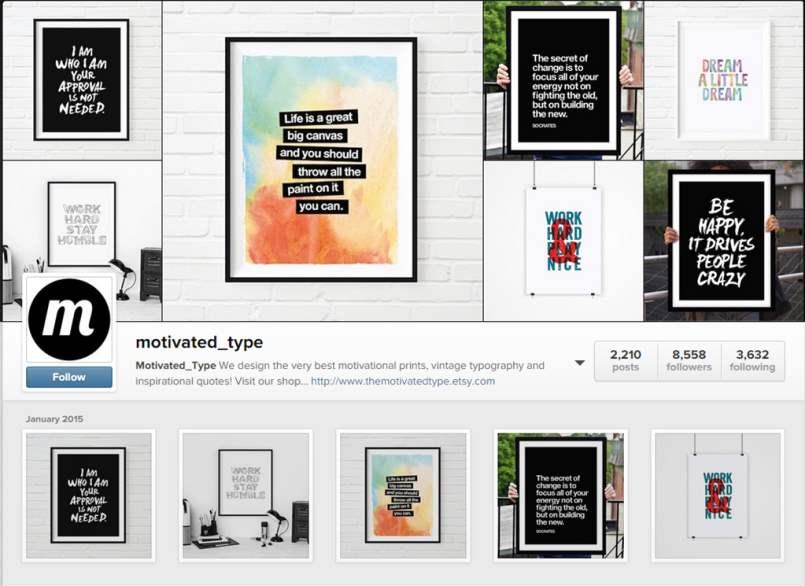 Motivated Type Instagram Account