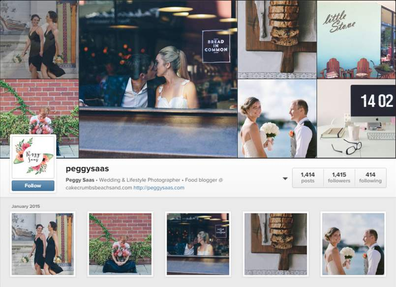 Peggy Sass Instagram Account