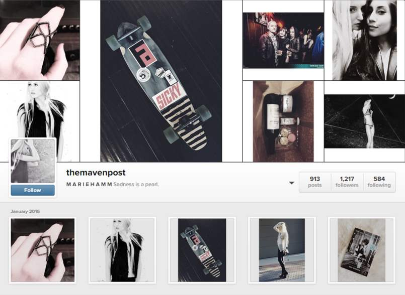 The Maven Post Instagram Account