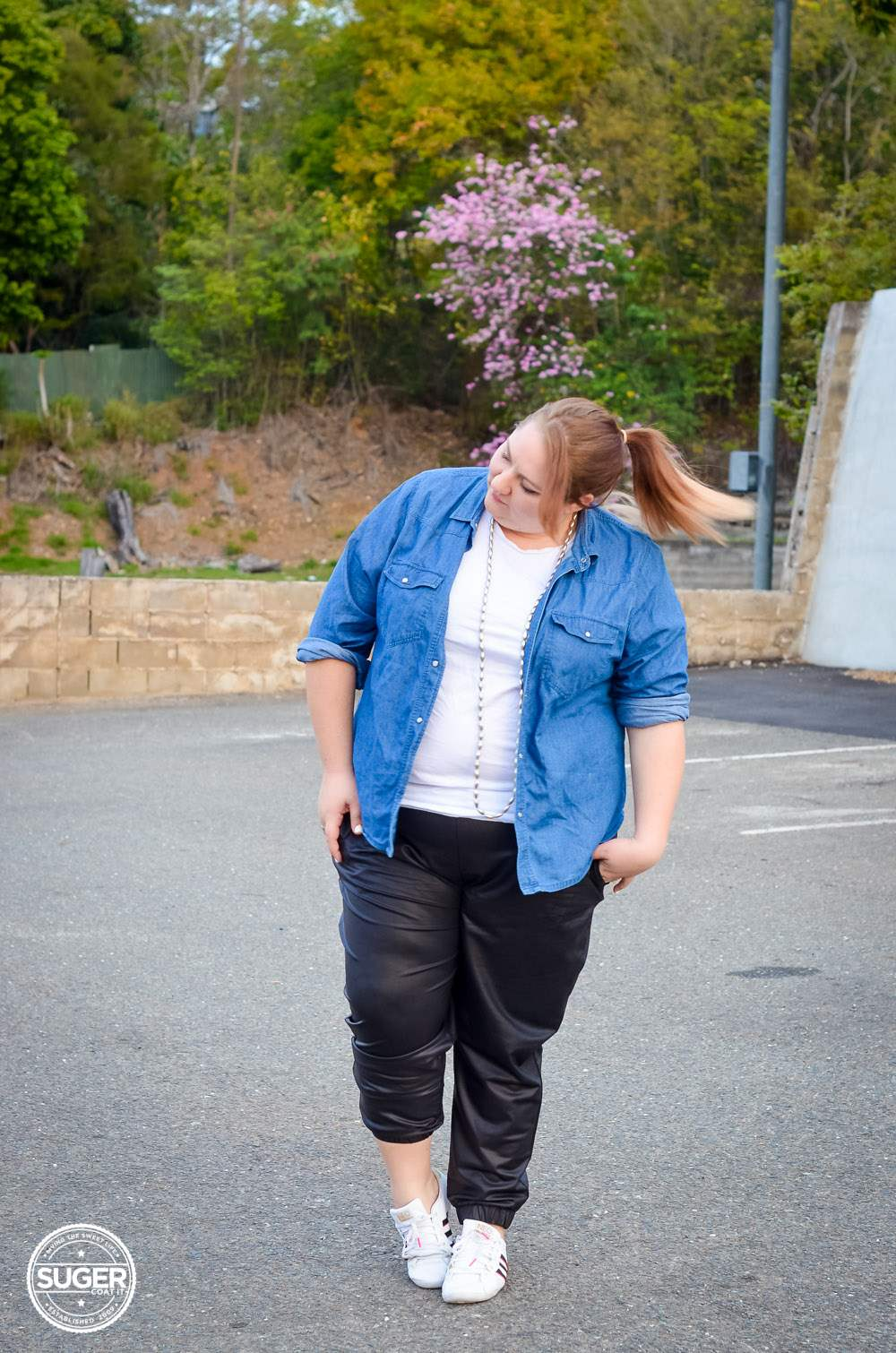 suger coat it plus size fashion blog bloopers post-2