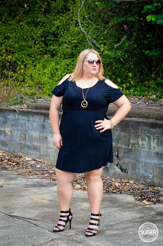 17 sundays basic plus size little black dress-1