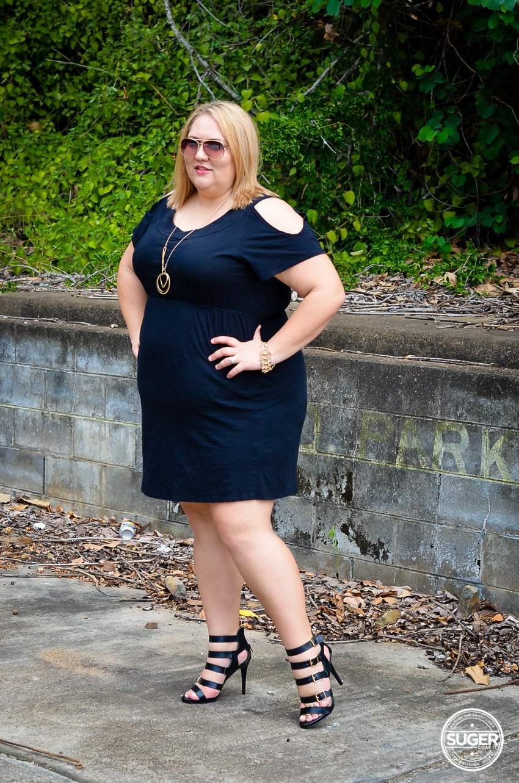 17 sundays basic plus size little black dress-2