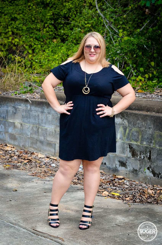 17 sundays basic plus size little black dress-4